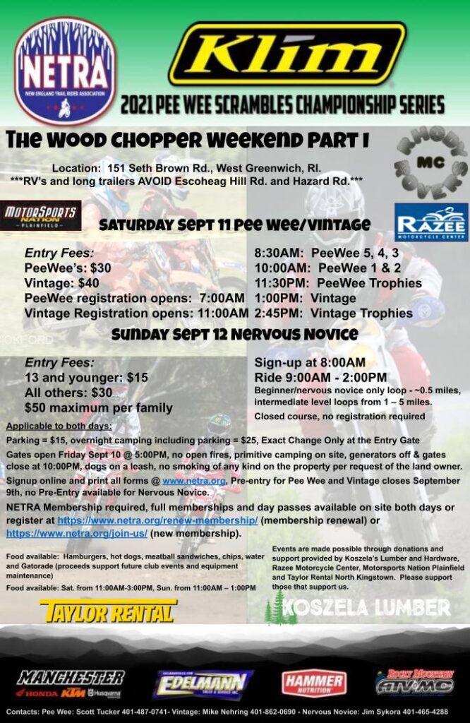 2021 Wood Chopper Jr Sprint Enduro